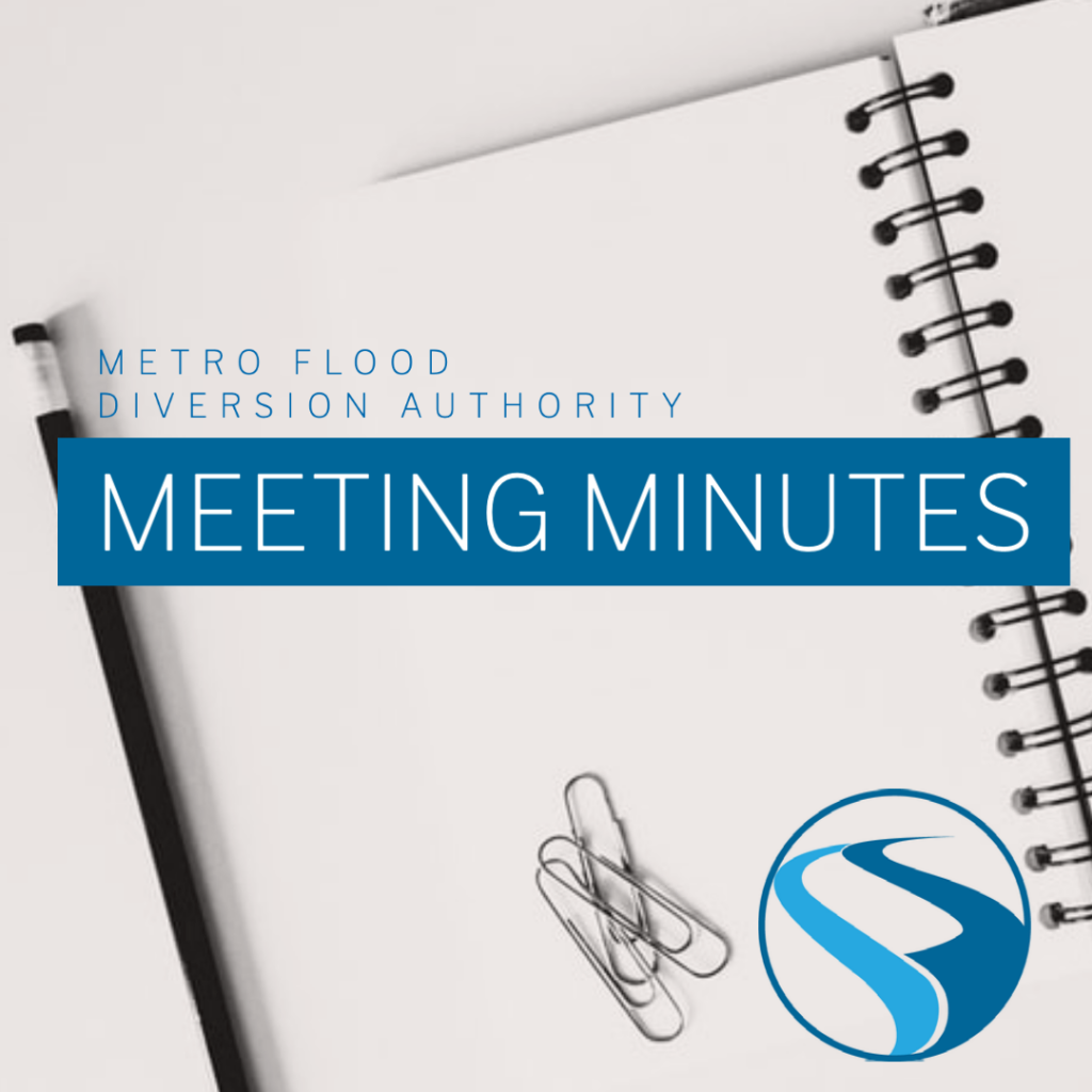 Metro Flood Diversion Authority Meeting Minutes – March 25, 2021