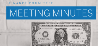 Finance Committee Meeting Minutes – September 22, 2021