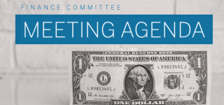 Finance Committee Meeting Agenda – September 22, 2021