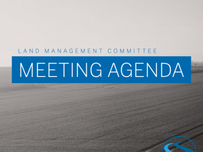 Land Management Meeting Agenda – July 21, 2021
