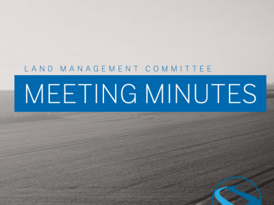 Land Management Committee Meeting Minutes – May 26, 2021
