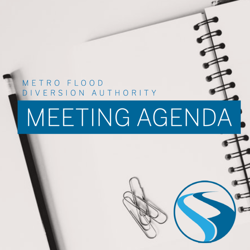 Metro Flood Diversion Authority Meeting Agenda – March 25, 2021