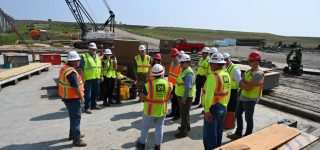 Official Visit to Fargo-Moorhead Flood Project