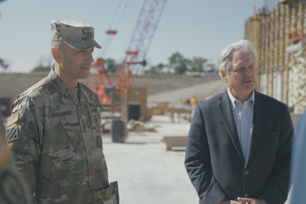 MFDA Hails Corps Partnership as Commanding General Visits Metro Area